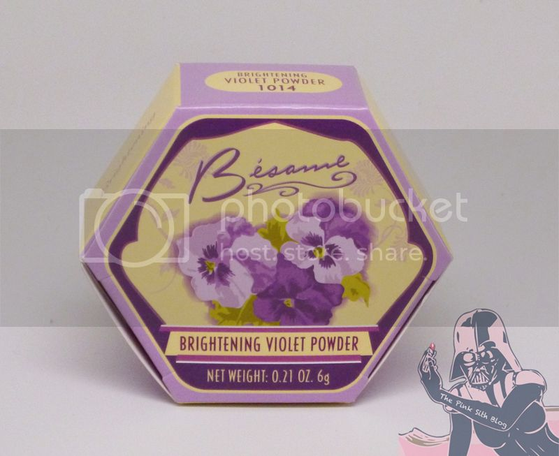 Besame Violet Brightening Powder 