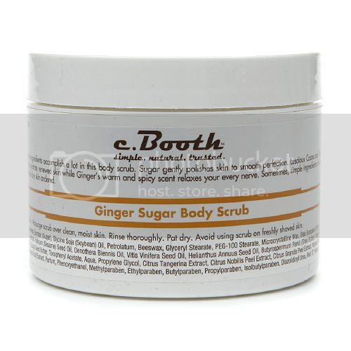 C. Booth Ginger Sugar Body Scrub